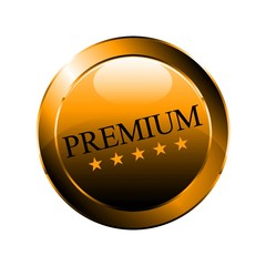 Premium Gold-Button