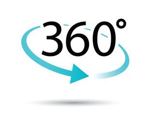 360 degres icon