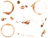 Coffee Rings and Splatters