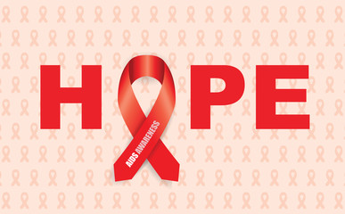 aids awareness ribbon