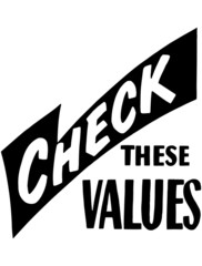 Check These Values