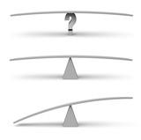 Three Empty Balance Beam Scales - 74242909