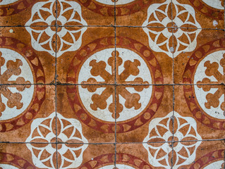 Old tiles pattern