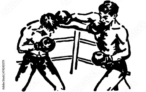 Boxing Match - 74243579