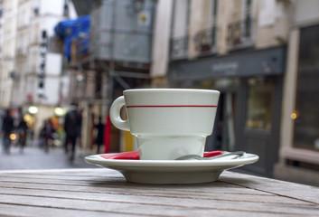 Small street in Paris.