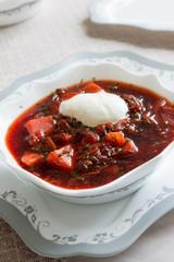 Borsch-Russian national dish
