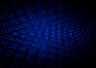 Blue squared abstract background