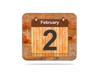February 2.