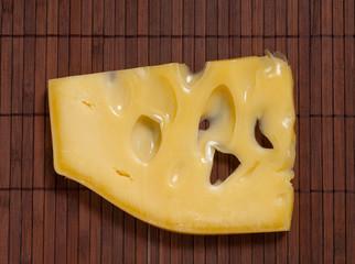 Swiss cheese.