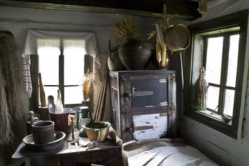 old house interior