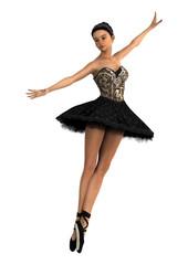 Asian Female Ballet Dancer