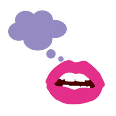 lips color vector