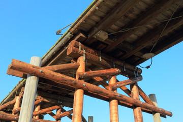 八幡流れ橋の構造