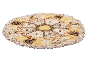 Food Mandala wheel