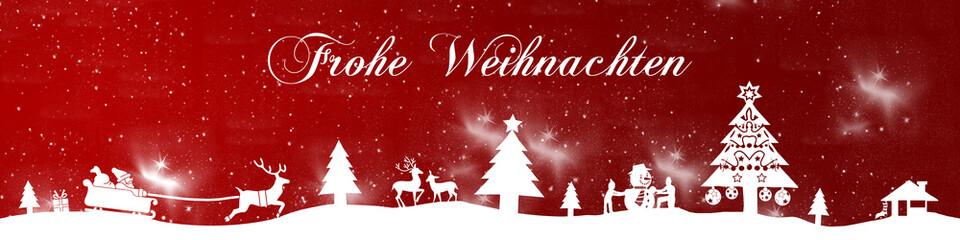 cb22 ChristmasBanner - sterne - deutsch mit text - 4zu1 - g2670