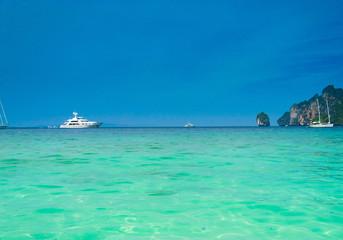 Sailing Oceans Vast Seascape