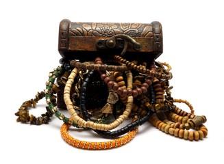 Turkish Trinket Box with Jewelery