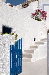 Cozy hotel in Santorini, Cycladic islands