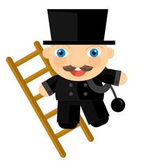 Cartoon character - chimney-sweep