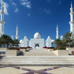 View of Sheikh Zayed Grand Mosque