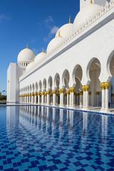 Sheikh Zayed mosque at Abu-Dhabi