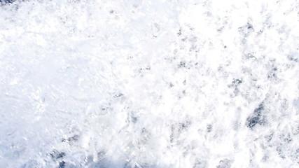 speedboat makes waves in the ocean