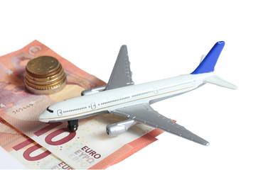 Flugzeug Geld