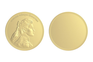 Gold Coin / Medal