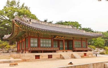 Yanghwadang Hall (1484) of Changdeokgung Palace in Seoul, Korea