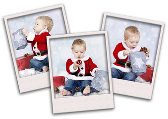 My first christmas collage