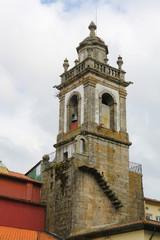 Tower of Igreja da Lapa in Braga, Minho, Portugal