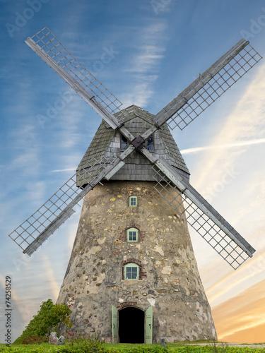 Medieval windmill - 74258529