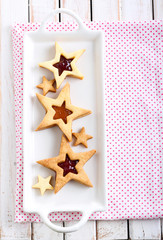 Star biscuits