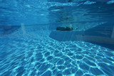 Aufond de la piscine