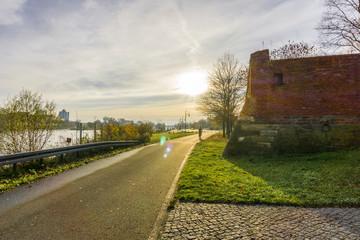 Elberadweg in Magdeburg 08405