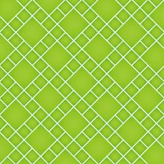 整列する菱形正方形のテクスチャ(グリーン)
