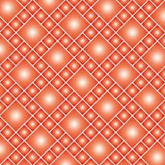 整列する菱形正方形のテクスチャ(レッド)