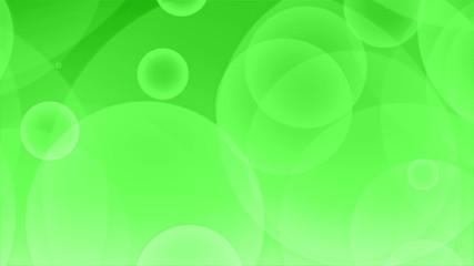 アブストラクト背景映像-波紋(緑)
