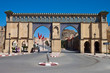 One of gates of the city Meknes