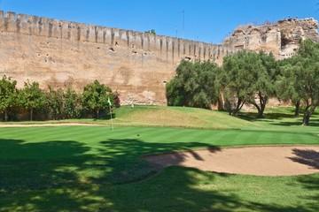 Golf course in Meknes