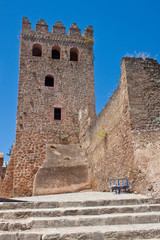 Tower in Chefchaouen town