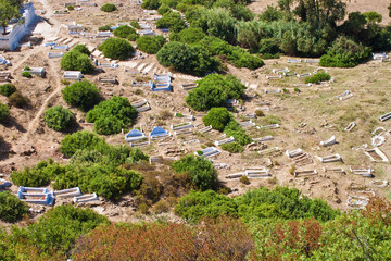 Cemetery in Chefchaouen