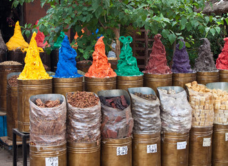 Stall with spices