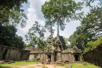 The ancient castle Ta phorm in old Khmer kingdom, Cambodia