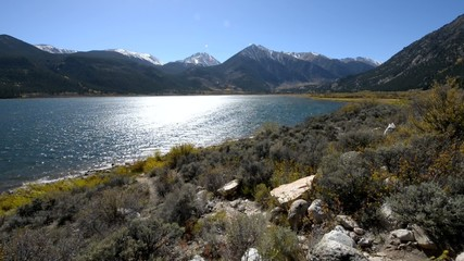 Twin Lakes - Lake County near Leadville Colorado