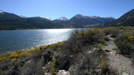 Twin Lakes - Lake County near Leadville Colorado