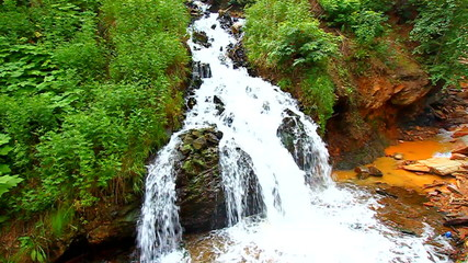 Spearfish Canyon Cascades South Dakota