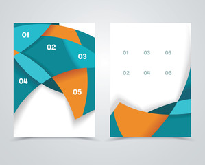 Geometric design vector business banners