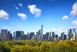 Fototapety Manhattan skyline with Central Park in New York City