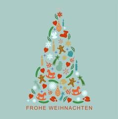 Frohe Weihnachten Weihnachtsbaum